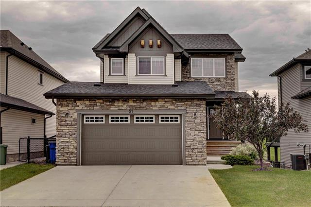 91 Crystal Green Drive, Okotoks, AB T1S 2N8 (#C4192040) :: Canmore & Banff