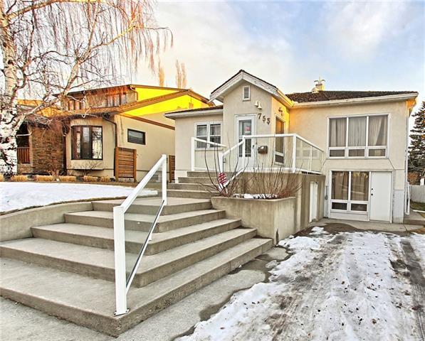 753 Alexander Crescent NW, Calgary, AB T2M 4B8 (#C4220725) :: Calgary Homefinders