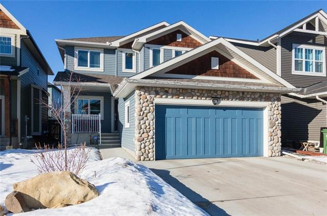 136 Jumping Pound Terrace, Cochrane, AB T4C 0K7 (#C4162028) :: Redline Real Estate Group Inc