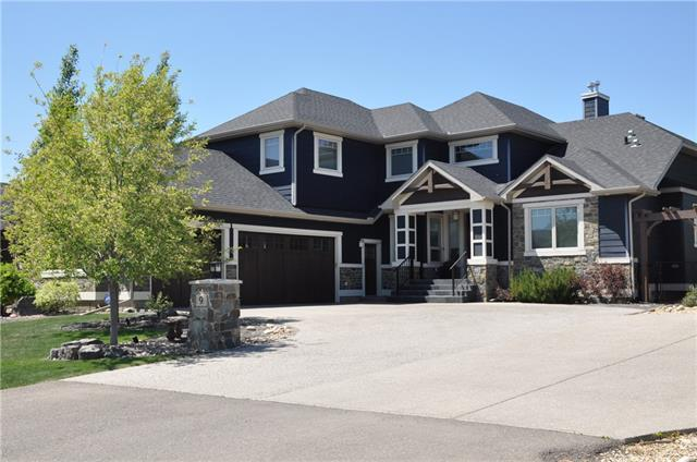 9 Cimarron Estates Link, Okotoks, AB T1S 0C6 (#C4167001) :: Redline Real Estate Group Inc
