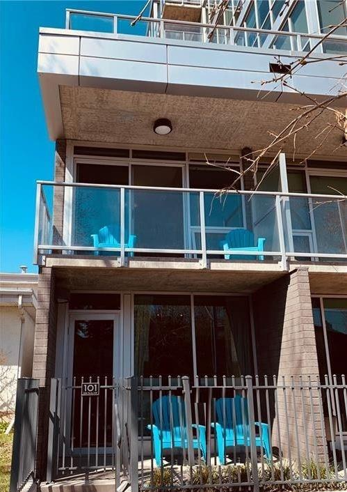 235 9A Street NW #101, Calgary, AB T2N 4H7 (#C4244519) :: Redline Real Estate Group Inc