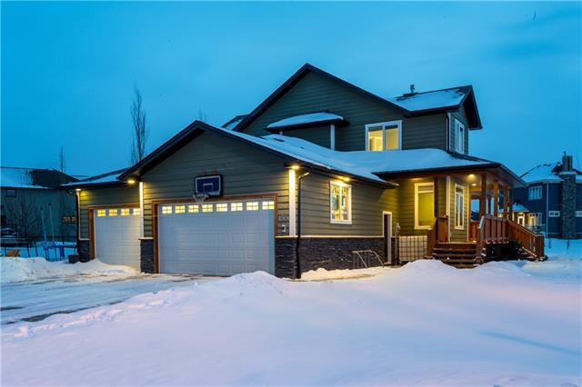 155 Montenaro Crescent, Rural Rocky View County, AB T4C 0A7 (#C4146034) :: The Cliff Stevenson Group