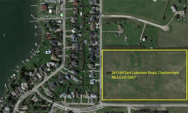241144 East Lakeview Road, Chestermere, AB T1X 0M6 (#C4215057) :: Redline Real Estate Group Inc