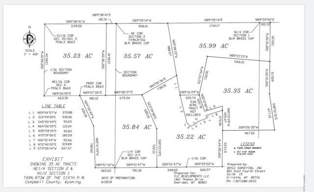 Tbd Roper, Gillette, WY 82718 (MLS #19-647) :: 411 Properties