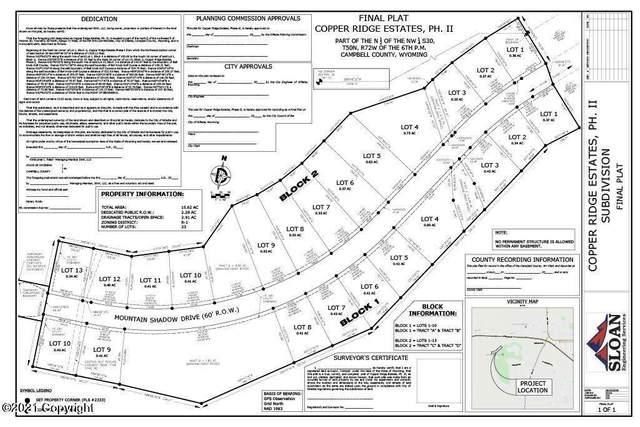 612 Mountain Shadow Drive, Gillette, WY 82718 (MLS #21-1453) :: 411 Properties