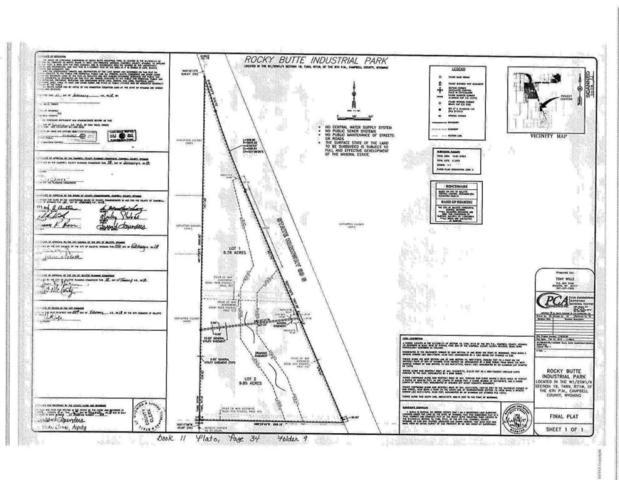 0 Highway 59, Gillette, WY 82718 (MLS #18-424) :: 411 Properties