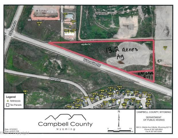 Boxelder Road, Gillette, WY 82718 (MLS #19-68) :: 411 Properties