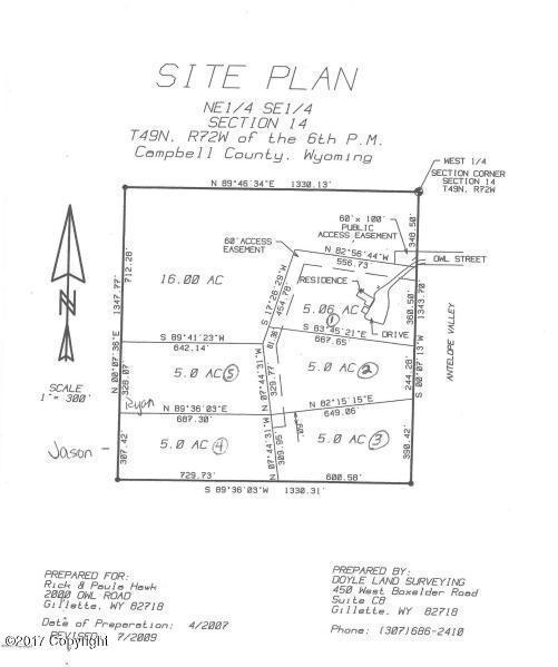 Tbd Owl, Gillette, WY 82718 (MLS #17-1361) :: Team Properties