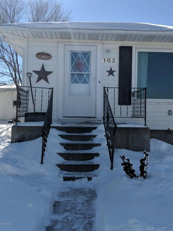 103 Highland Ave -, Newcastle, WY 82701 (MLS #18-158) :: 411 Properties
