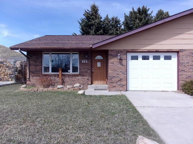 868 Fort St -, Buffalo, WY 82834 (MLS #18-698) :: Team Properties
