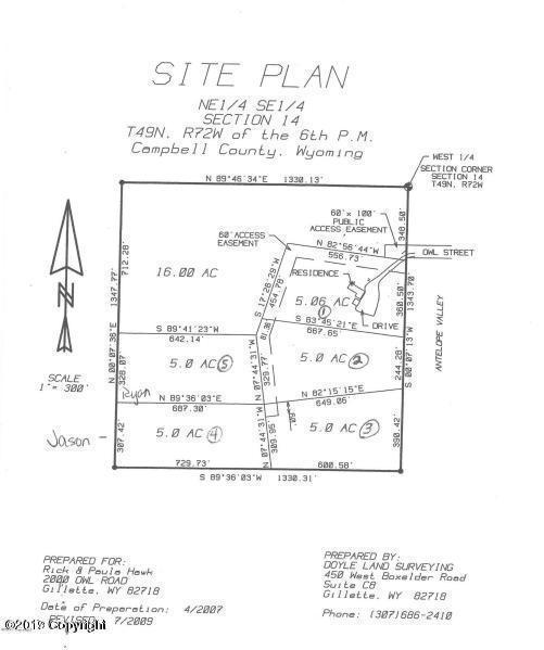2030 Owl Rd, Gillette, WY 82718 (MLS #19-5) :: Team Properties