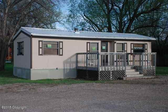 103 Park St -, Hulett, WY 82720 (MLS #20-650) :: Team Properties