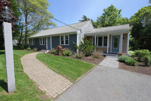 72 Mill Road, East Sandwich, MA 02537 (MLS #21803741) :: ALANTE Real Estate
