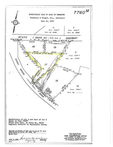0 Stony Brook Lot #17 Brewster, Brewster, MA 02631 (MLS #21807003) :: Rand Atlantic, Inc.