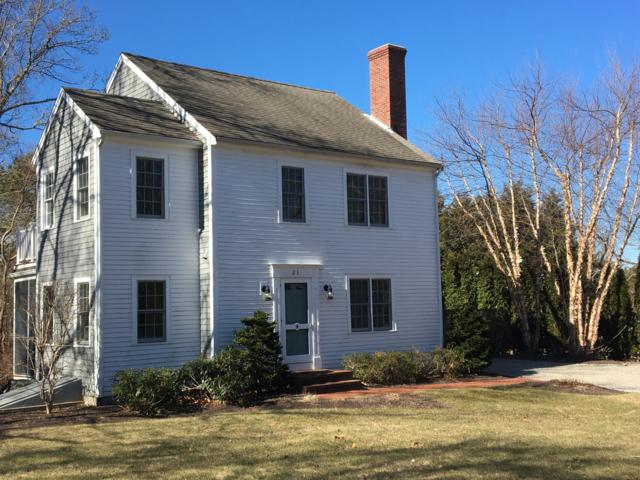 23 Torrey Road, East Sandwich, MA 02537 (MLS #21901152) :: Bayside Realty Consultants