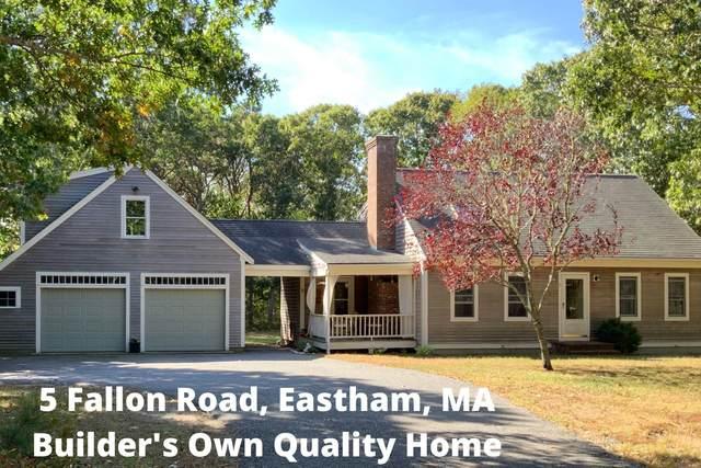 5 Fallon Road, Eastham, MA 02642 (MLS #22007073) :: Rand Atlantic, Inc.