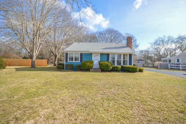 214 Davisville Road, East Falmouth, MA 02536 (MLS #22100261) :: Leighton Realty