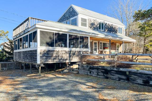 155 Nauhaught Bluffs Road, Wellfleet, MA 02667 (MLS #22100846) :: Cape Cod and Islands Beach Properties