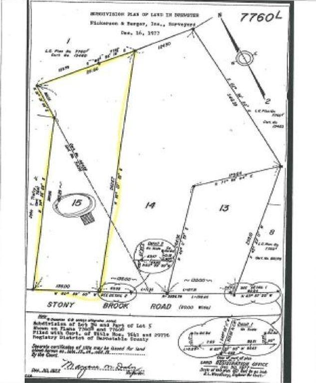 0 Stoney Brook Lot #15 Brewster, Brewster, MA 02631 (MLS #21807001) :: Rand Atlantic, Inc.