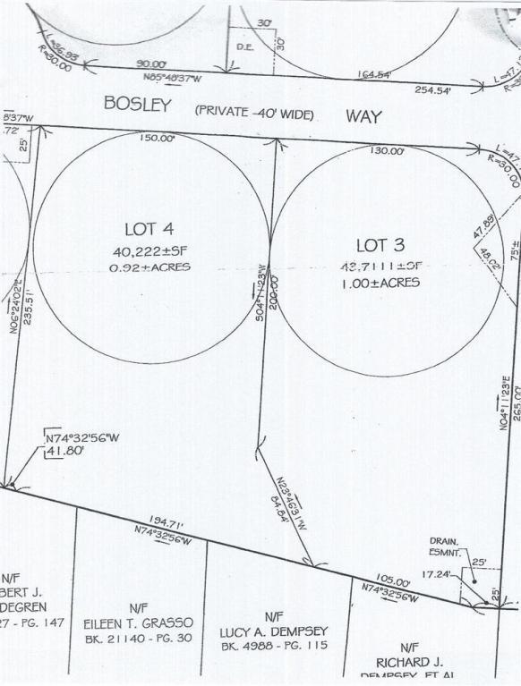 3-Lot 3 Bosley Way, South Harwich, MA 02661 (MLS #21407885) :: Rand Atlantic, Inc.