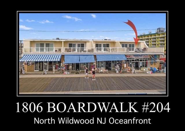 1806 Boardwalk #204, North Wildwood, NJ 08260 (MLS #203558) :: The Oceanside Realty Team