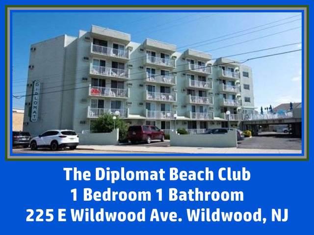 225 E Wildwood #406, Wildwood, NJ 08260 (MLS #210690) :: The Oceanside Realty Team