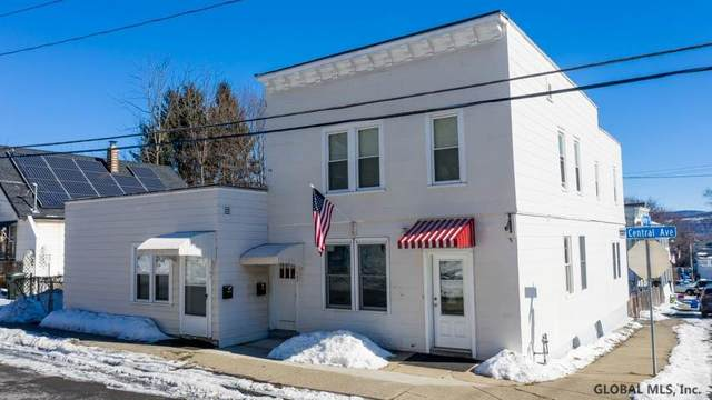 107 Central Av, Cohoes, NY 12047 (MLS #202112422) :: The Shannon McCarthy Team | Keller Williams Capital District