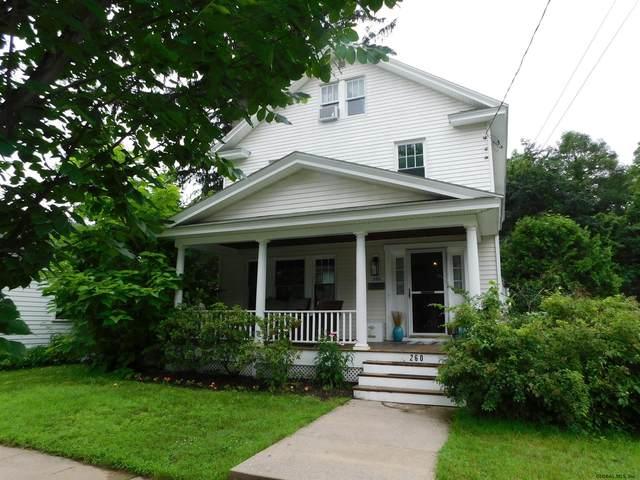 260 Caroline St, Saratoga Springs, NY 12866 (MLS #202123618) :: Carrow Real Estate Services