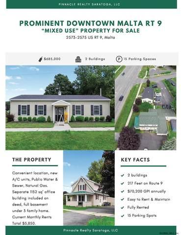 2573-2575 Rt 9, Malta, NY 12020 (MLS #202124476) :: Carrow Real Estate Services