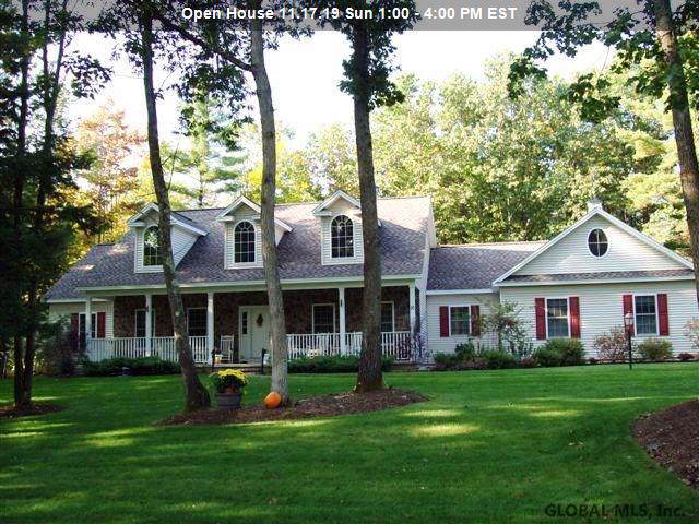 11 Buff Rd, Saratoga Springs, NY 12866 (MLS #201932087) :: Picket Fence Properties