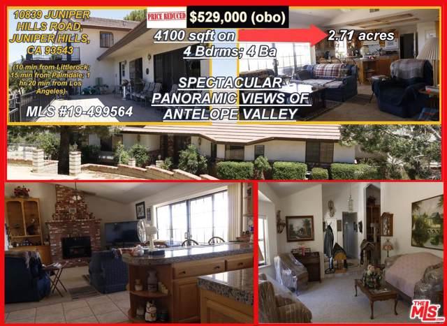 10839 Juniper Hills Road, Juniper Hills, CA 93543 (#19499564) :: The Pratt Group