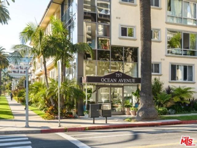 757 Ocean Avenue #109, Santa Monica, CA 90402 (#17241434) :: The Fineman Suarez Team