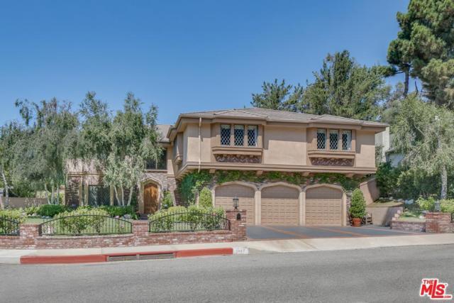 2847 Deep Canyon Drive, Beverly Hills, CA 90210 (#17243774) :: TBG Homes - Keller Williams