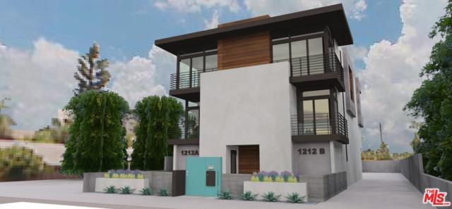 1212 N Orange Drive, Los Angeles (City), CA 90038 (#17245030) :: TruLine Realty
