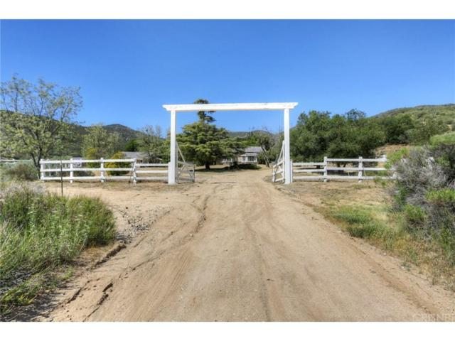 36917 Bouquet Canyon Road, Agua Dulce, CA 91390 (#SR17157482) :: Paris and Connor MacIvor
