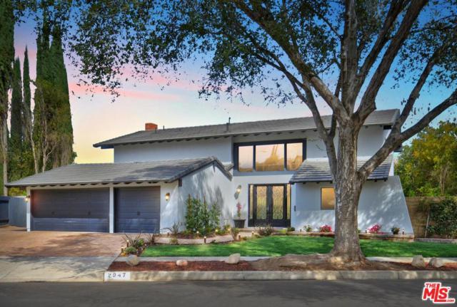2047 Bridgegate Court, Westlake Village, CA 91361 (#17281436) :: DSCVR Properties - Keller Williams