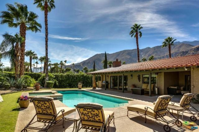 418 W Chino Canyon Road, Palm Springs, CA 92262 (#17283120PS) :: TruLine Realty