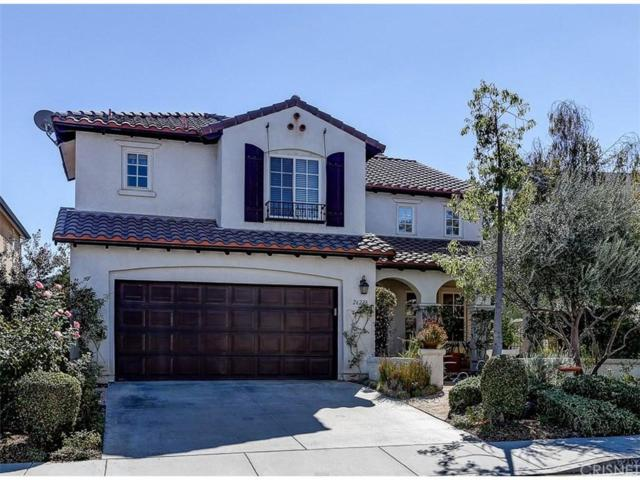 26228 Beecher Lane, Stevenson Ranch, CA 91381 (#SR17245133) :: The Real Estate Offices of Talbot and Watson