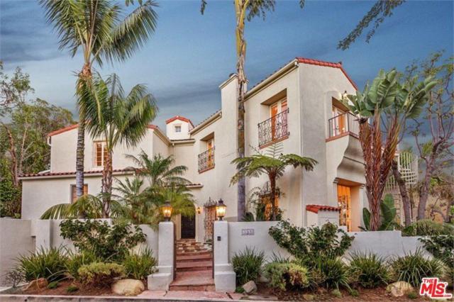 548 Crestline Drive, Los Angeles (City), CA 90049 (#17293916) :: The Fineman Suarez Team