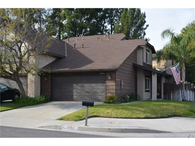 16903 Shinedale Drive, Canyon Country, CA 91387 (#SR18010783) :: The Real Estate Offices of Talbot and Watson