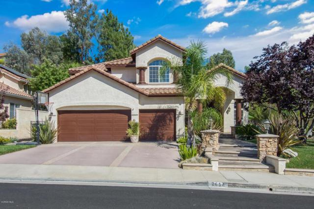 2654 Yellowwood Drive, Westlake Village, CA 91361 (#218001175) :: Lydia Gable Realty Group