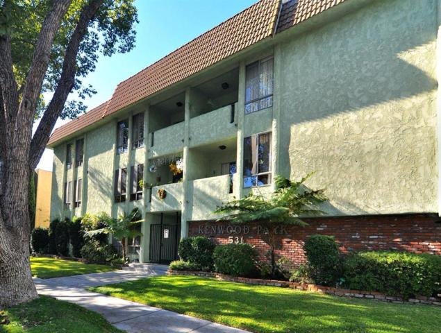 531 N Kenwood Street #208, Glendale, CA 91206 (#318000443) :: Golden Palm Properties