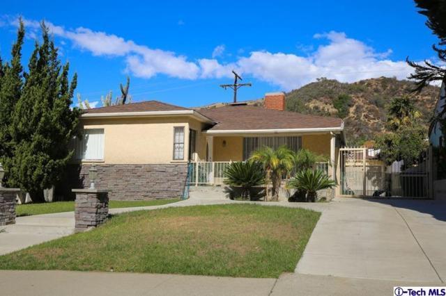 2129 E Glenoaks Boulevard, Glendale, CA 91206 (#318000643) :: Golden Palm Properties
