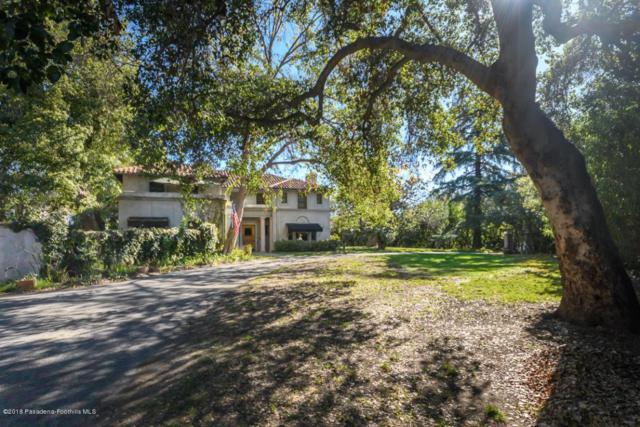 580 S San Rafael Avenue, Pasadena, CA 91105 (#818000750) :: Golden Palm Properties