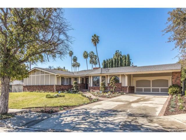 4601 La Cesta Place, Tarzana, CA 91356 (#SR18039641) :: Golden Palm Properties