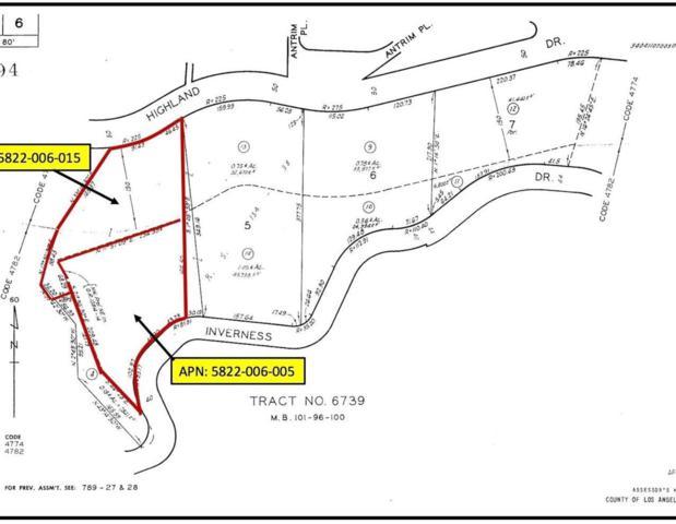 0 Highland Drive, La Canada Flintridge, CA 91011 (#318000668) :: Lydia Gable Realty Group