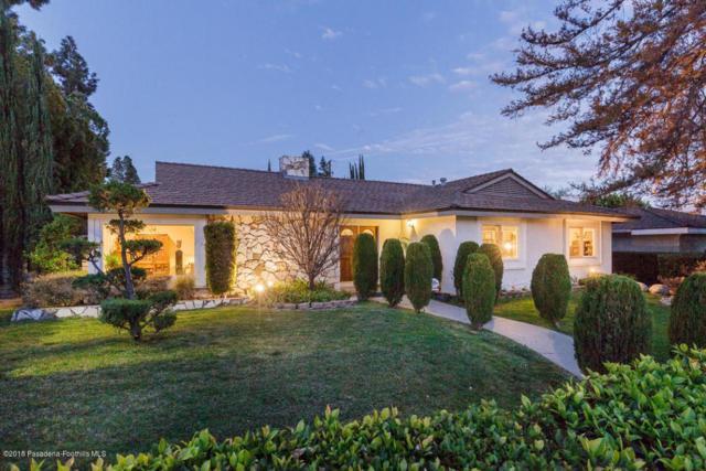 1310 Vandyke Road, San Marino, CA 91108 (#818000770) :: Golden Palm Properties