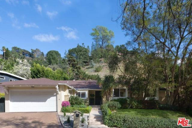 1632 San Ysidro Drive, Beverly Hills, CA 90210 (#18315432) :: Golden Palm Properties