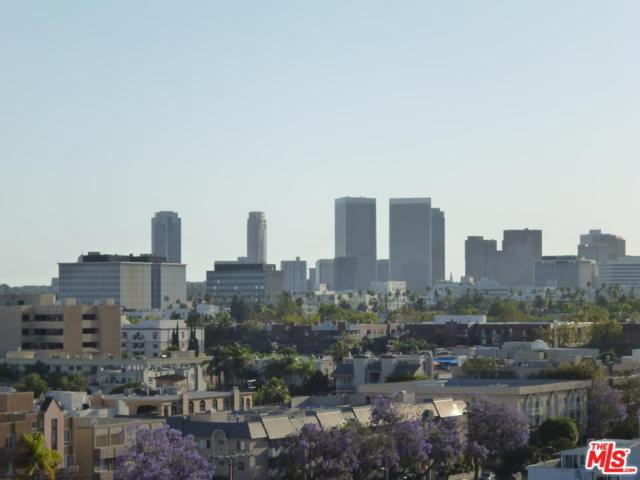 1100 Alta Loma Road #1008, West Hollywood, CA 90069 (#18315962) :: Golden Palm Properties