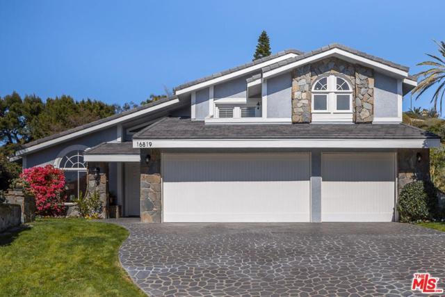 16819 Glynn Drive, Pacific Palisades, CA 90272 (#18316188) :: Golden Palm Properties